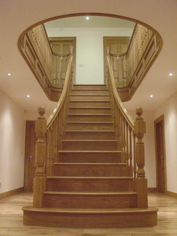 Stairs Donegal Modern Traditional Staircases Doors Internal Wood Products Haughey Joinery