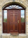 57mm External Door with 3-point locking system.